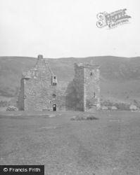 Arran, Lochranza Castle 1958