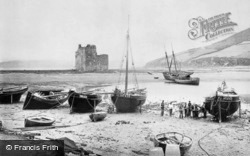 Arran, The Castle And Loch Ranza c.1890