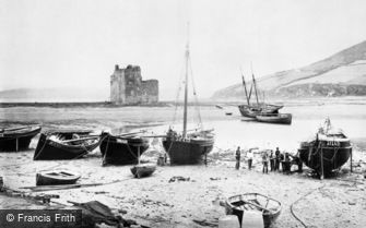 Arran, the Castle and Loch Ranza c1890