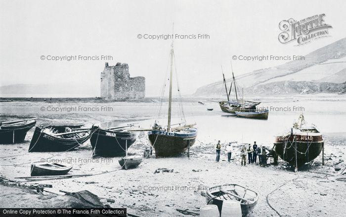 Photo of Arran, The Castle And Loch Ranza c.1890
