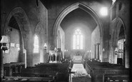 Arreton, Church Interior 1890
