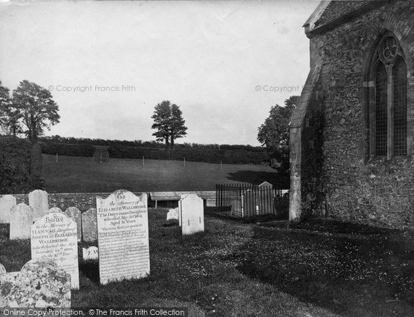 Arreton, St George's Church And Dairyman's Daughters Grave c.1875