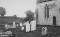 Arreton, St George's Church, Dairyman's Daughter's Grave 1890