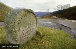 Rest And Be Thankful Pass, The Milestone c.1985, Arrochar
