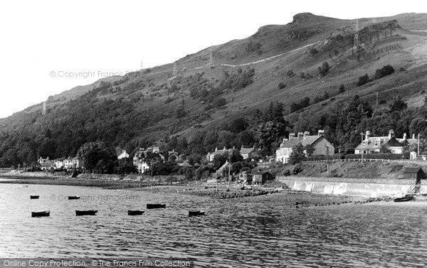 Arrochar, The Shore From Loch Long c.1955