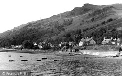 Arrochar, The Shore From Loch Long c.1955