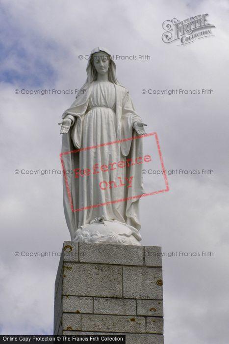 Photo of Arromanches Les Bains, Virgin Mary Statue 2008