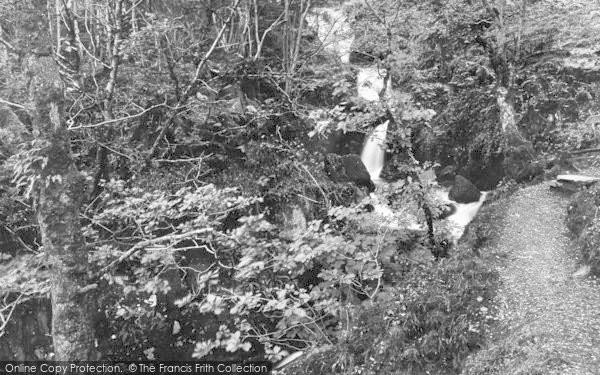Photo of Arthog, A Waterfall 1888