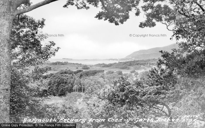 Photo of Arthog, Barmouth Estuary From Coed Y Garth c.1955