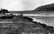 Arthog, Beach And Barmouth Bridge c.1935