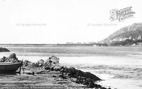 Photo of Arthog, Beach And Barmouth Bridge c.1955