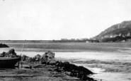 Arthog, Beach And Barmouth Bridge c.1955