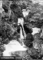 Arthog, Falls Below Bridge c.1930