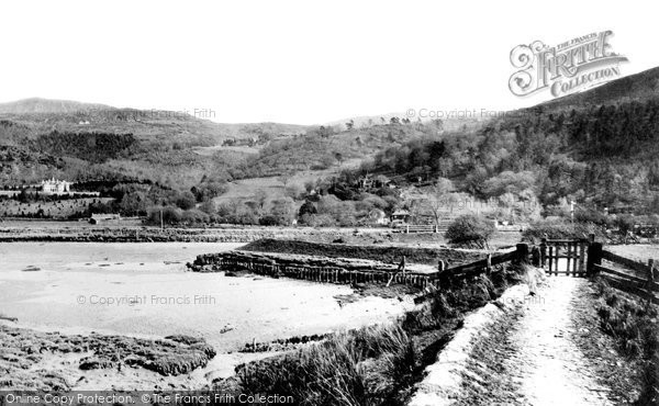 Photo of Arthog, From Across The Estuary 1889