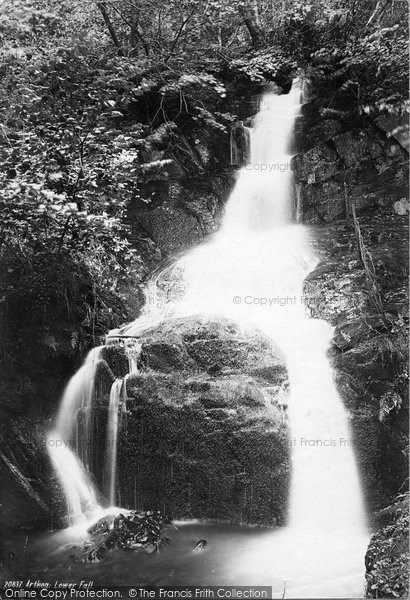 Photo of Arthog, Lower Fall 1888