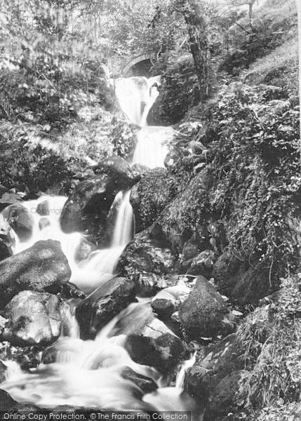 Photo of Arthog, Lower Falls 1892