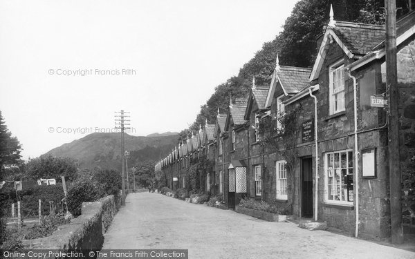 Photo of Arthog, Post Office And The Terrace 1938