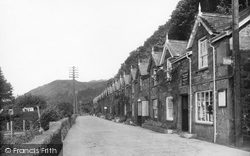 Arthog, Post Office And The Terrace 1938