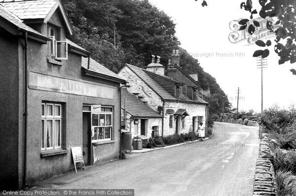Arthog, The Village c.1965