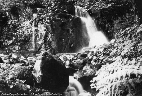 Photo of Arthog, Upper Fall 1888