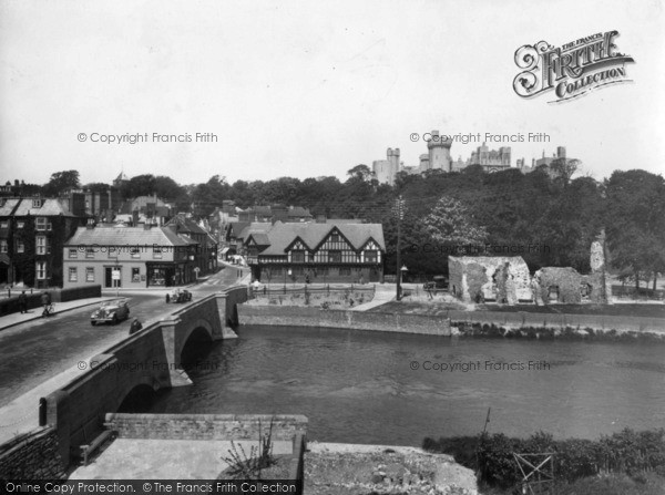 Photo of Arundel, Bridge And Castle 1936