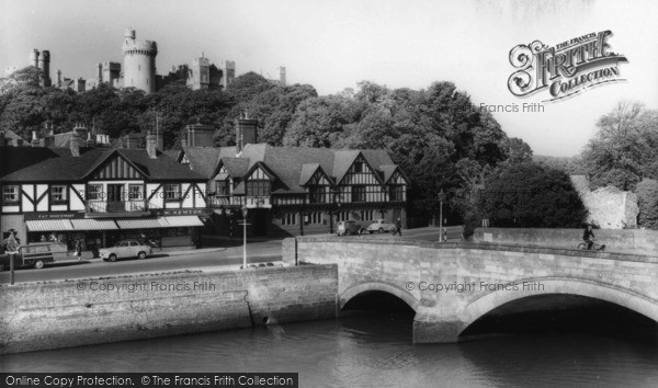 Photo of Arundel, Bridge And Castle c.1960