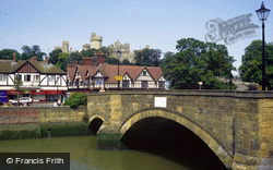 Bridge And Castle c.1990, Arundel