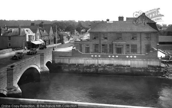 Arundel, Bridge And Hotel 1936