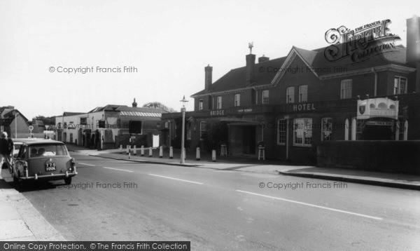 Photo of Arundel, Bridge Hotel c.1960