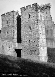 Arundel, Castle 1950