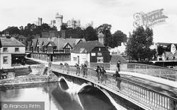 Castle And Bridge 1902, Arundel