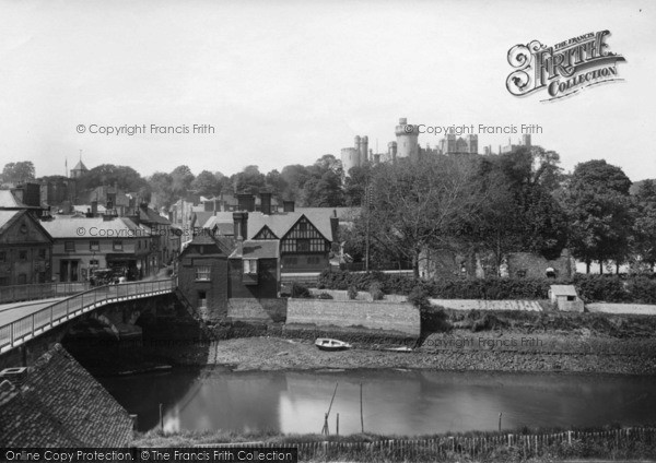 Photo of Arundel, Castle And Bridge 1923