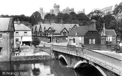 Castle And Bridge 1928, Arundel