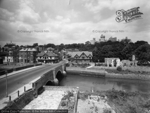 Photo of Arundel, Castle And Bridge 1939