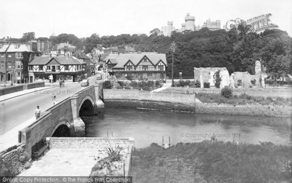 Photo of Arundel, Castle And Bridge 1939