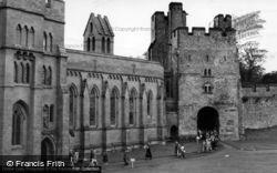Arundel, Castle c.1955