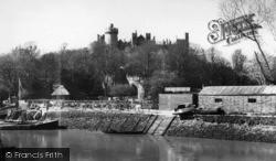 Arundel, Castle c.1960