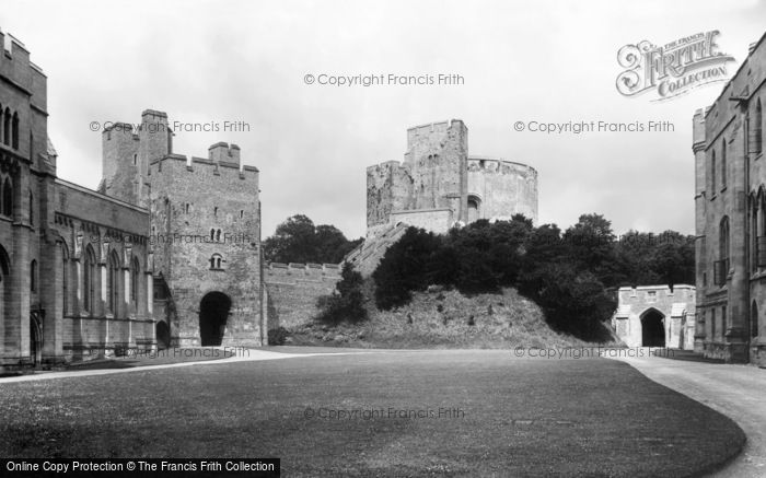 Photo of Arundel, Castle Courtyard 1908