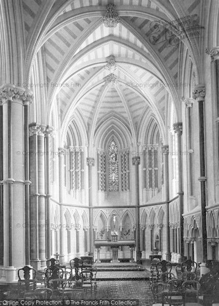 Photo of Arundel, Castle, Domestic Chapel 1898