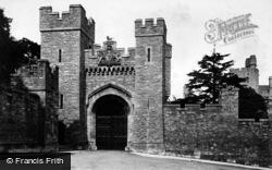 Arundel, Castle Entrance 1908