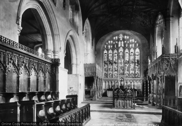 Photo of Arundel, Castle, Fitzalan Chapel 1898