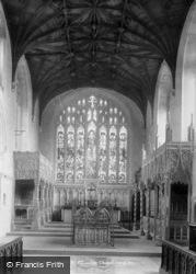 Castle, Fitzalan Chapel 1898, Arundel