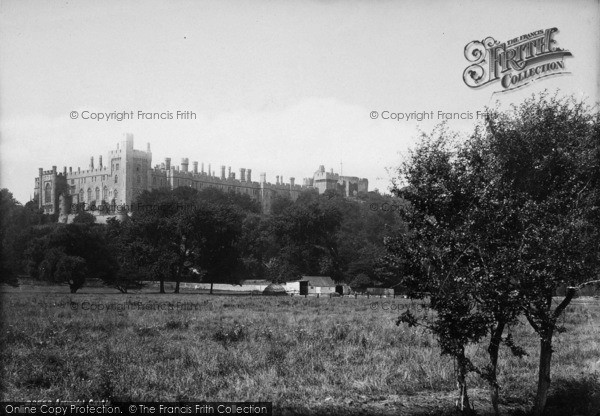Photo of Arundel, Castle From Meadows 1890
