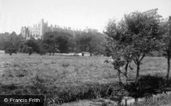 Castle From Meadows 1890, Arundel