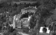 Arundel, Castle From The Air c.1958