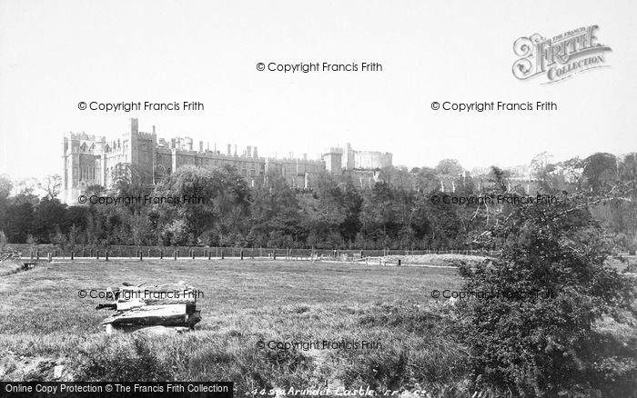 Photo of Arundel, Castle From The Meadows 1900