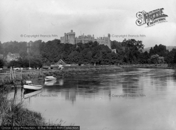 Photo of Arundel, Castle From The River Arun 1928