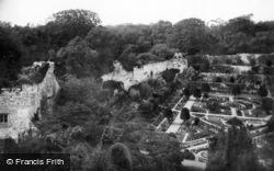 Arundel, Castle Gardens 1890
