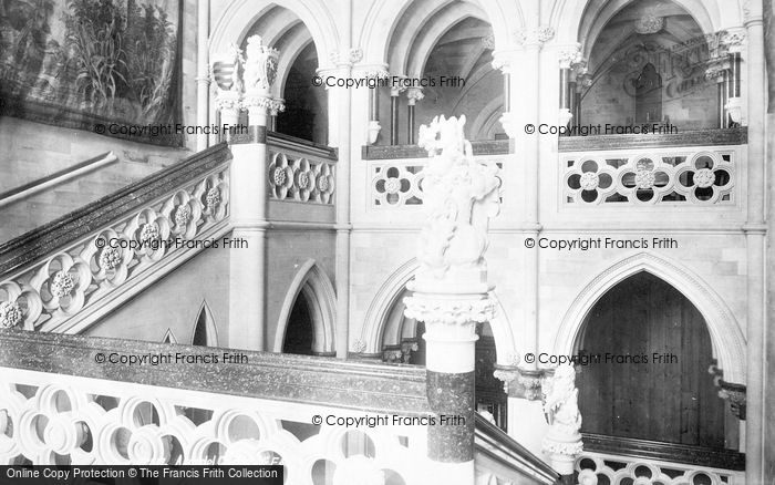 Photo of Arundel, Castle, Grand Staircase 1898