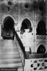 Arundel, Castle, Grand Staircase 1898